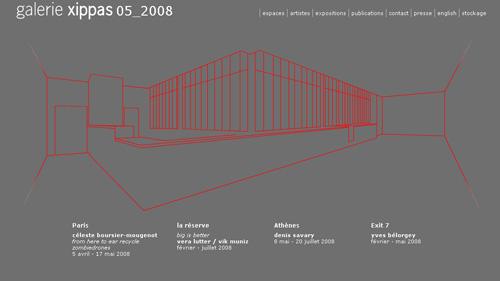 Image du site de la Galerie Xippas